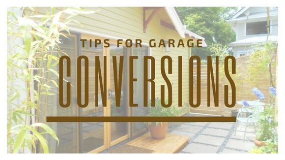 Tips for Garage Conversions